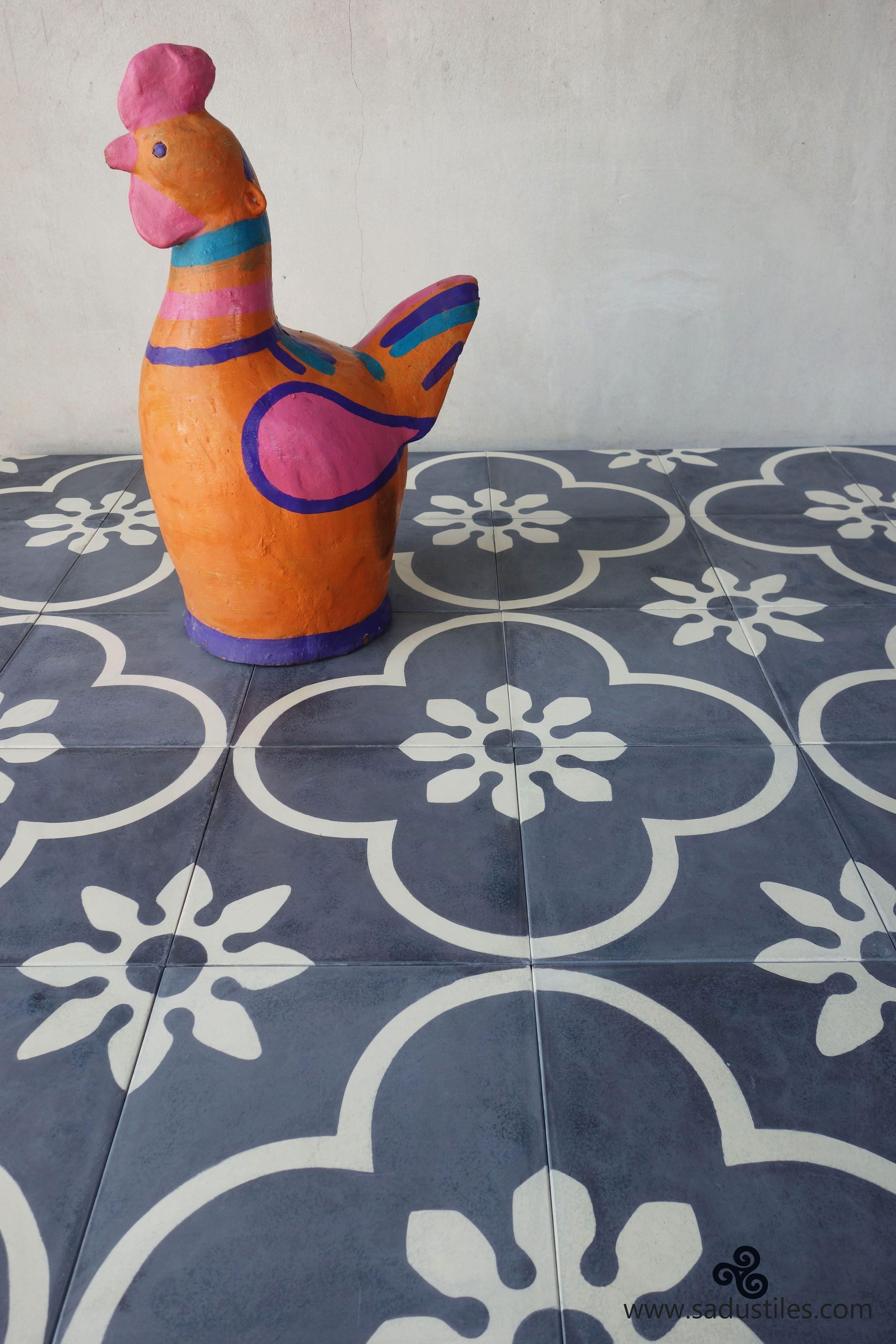Sadus Tiles Handmade Cement Tiles From Bali Indonesia Cement Tile Tiles Tile Patterns
