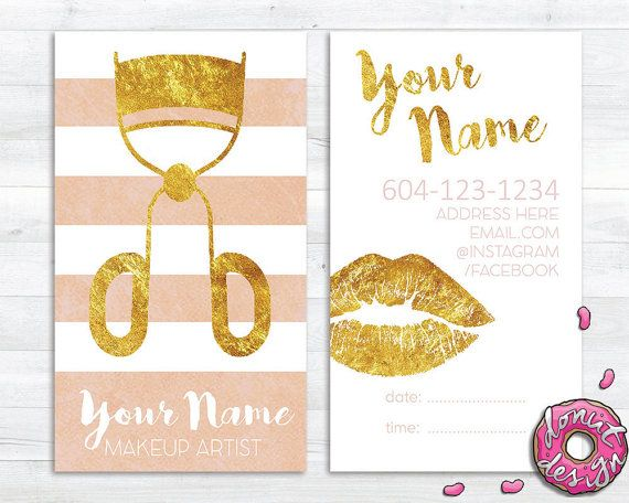 Rose gold custom makeup artist and cosmetologist by adonutdesign rose gold custom makeup artist and cosmetologist by adonutdesign reheart Choice Image