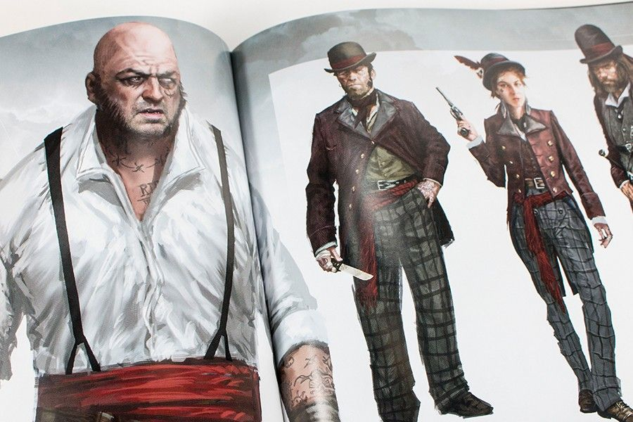 Assassins Creed Syndicate Art Book. The Blighters Designs ...