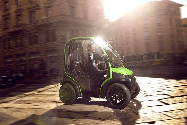 Estrima Biro Electric Car Small Two Seater Micro Vehicles