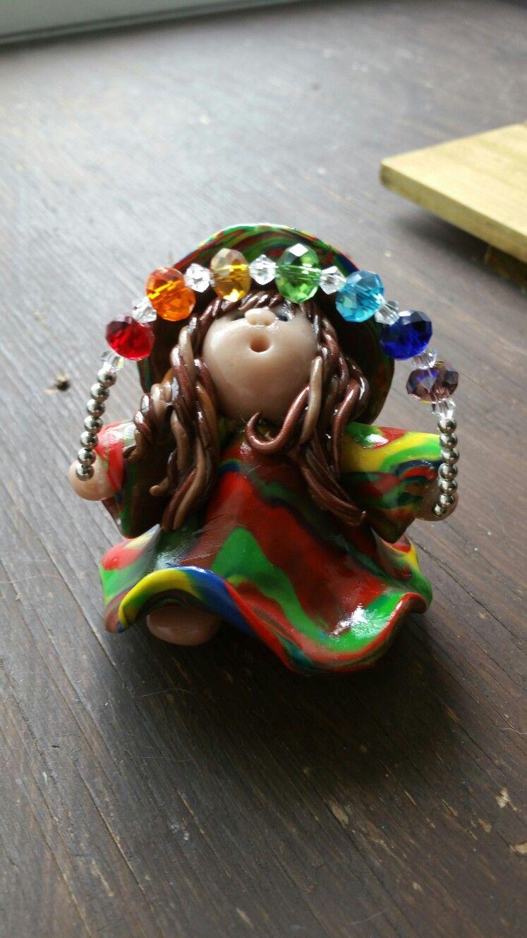 Lil' Mz. Witchy Iz Balancing her Chakras