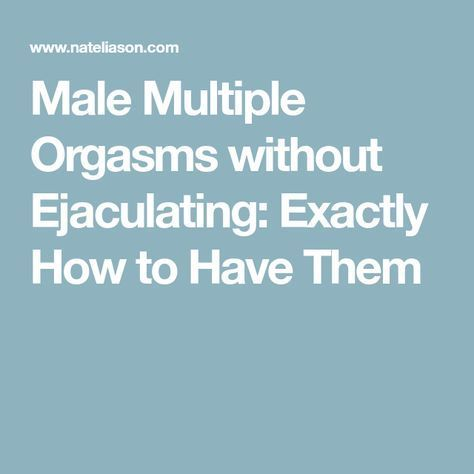 What that How to get multiple orgasms logically excellent