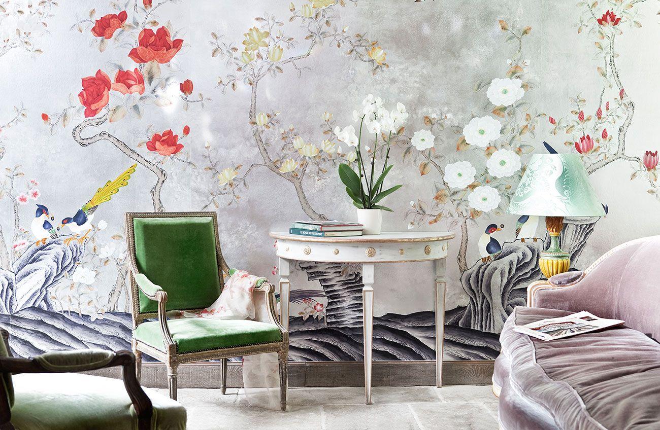 de Gournay: コレクション - 壁紙と織物 コレクション - 日本と韓国 コレクション |