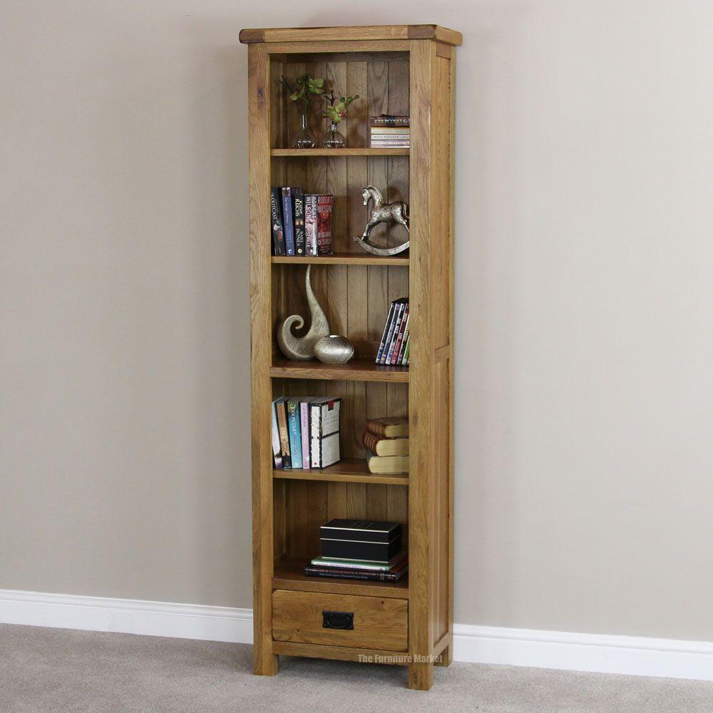 Skinny Bookcase Rustci Oak Narrow Tall Thin Bookcase Main Bookcases Wooden Jfkqmxx Bookcase With Drawers Bookcase Tall Narrow Bookcase