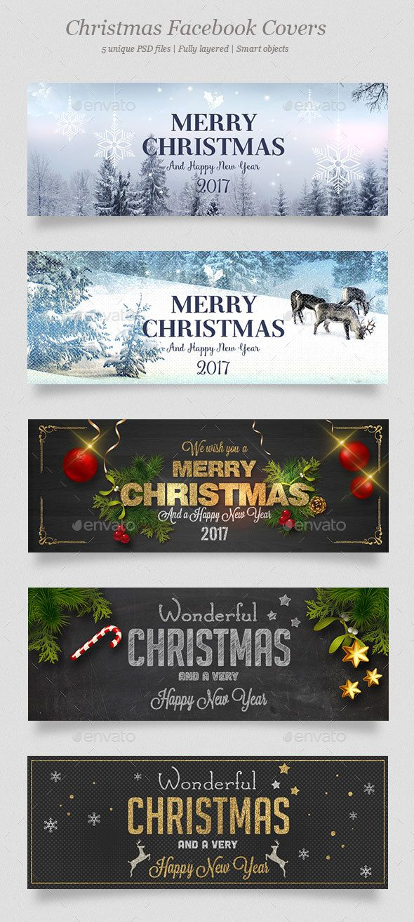 5 Christmas Facebook Covers | Facebook Timeline Covers | Pinterest ...