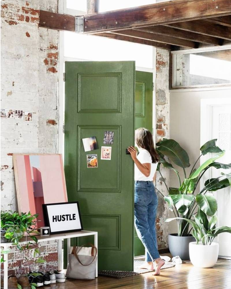 Dipingere Le Porte Di Casa 7 motivi per dipingere le porte di casa | loft interiors