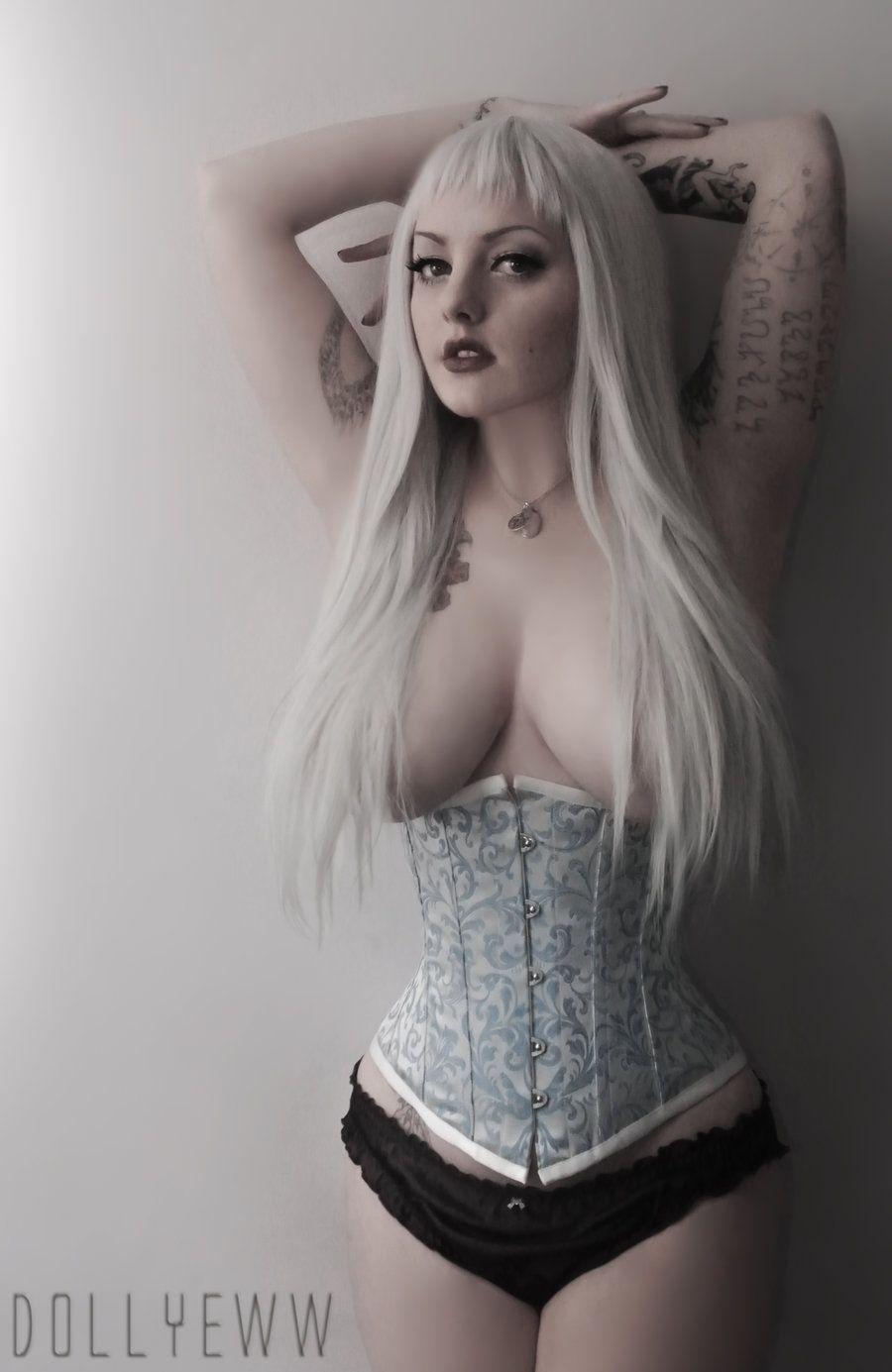Nude Goth Girl Pics Minimalist tightlacingdollyeww.deviantart   goth   pinterest