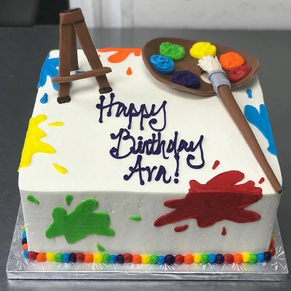 Paint Splatter Cake Paint Splatter Cake Splatter Cake Cake Decorating
