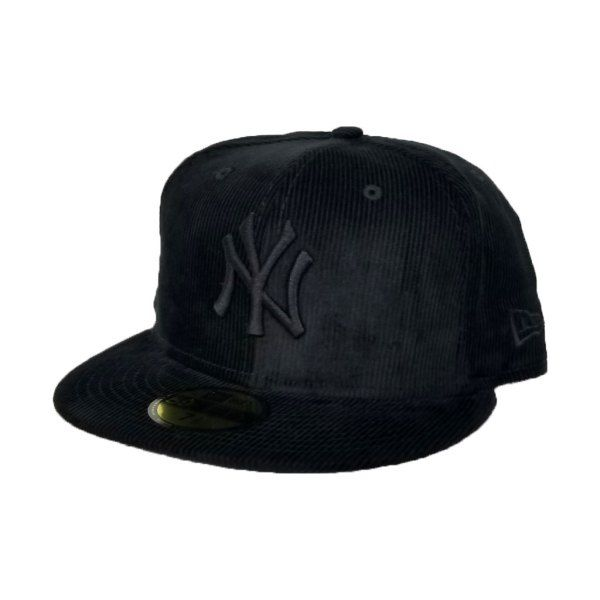 a9832ab026b0c New Era Black Corduroy New York Yankees 59Fifty Fitted
