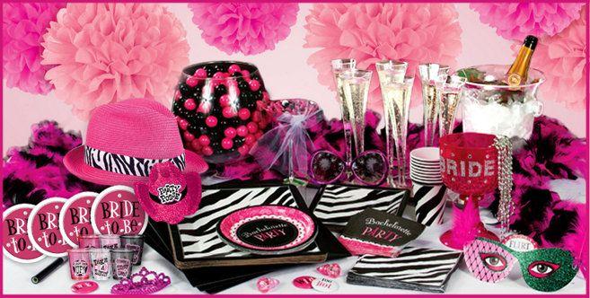 Bachelorette Party Supplies & Decorations - Bachelorette Party Ideas