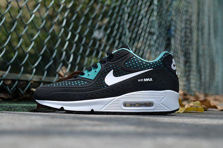 38c2e8c7649d Nike Air Max 90 Fashion Shoes For Men Black Blue Stylish Nike Air Max 90  Fashion Shoes For Men Black Blue Collection