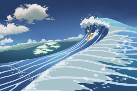 5 Centimeters Per Second Makoto Shinkai anime artwork