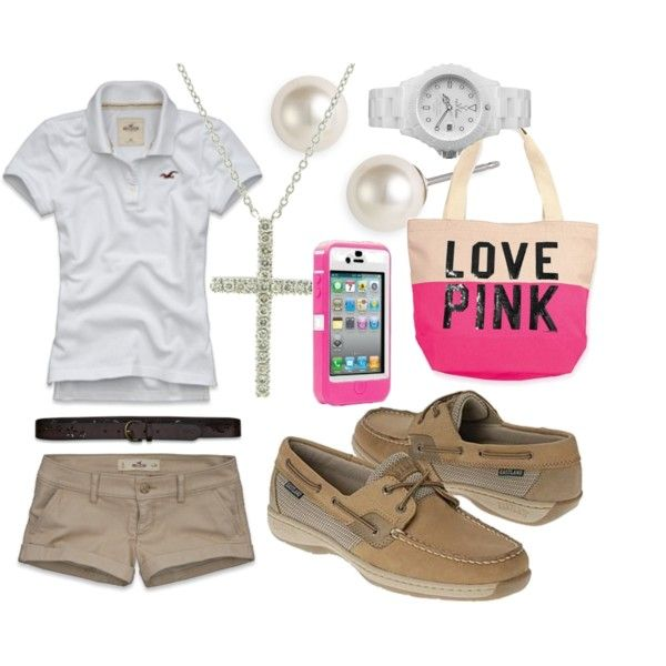 a preppy outfit for spring/summer