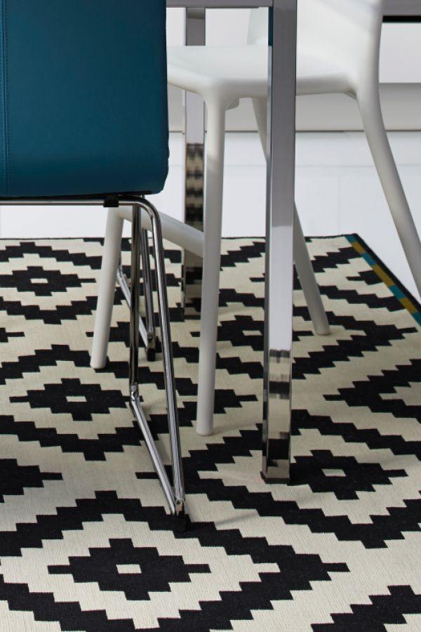 The Lljung Ruta Rug Is Por Because Of Its Funky Design And Fact That
