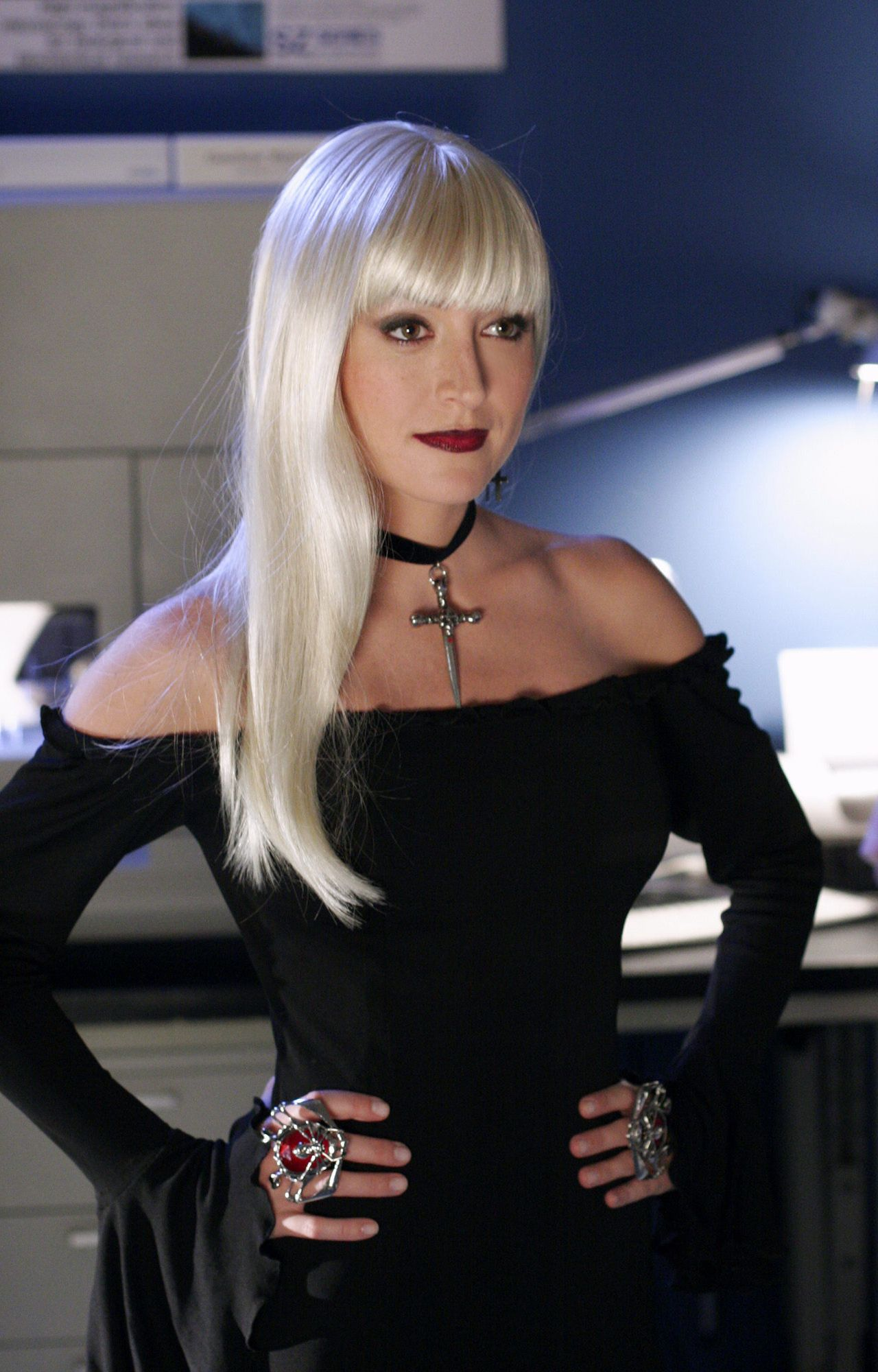 Kate as she appeared to Abby in her lab after her death.