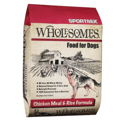 Wholesomes Chicken Meal Rice Dog Food 40 Lb Tractor Supply