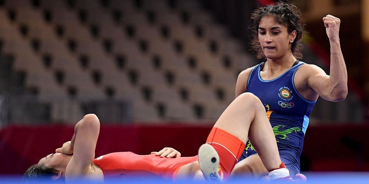 Vinesh is going to Tokyo A dominant display by star Indian