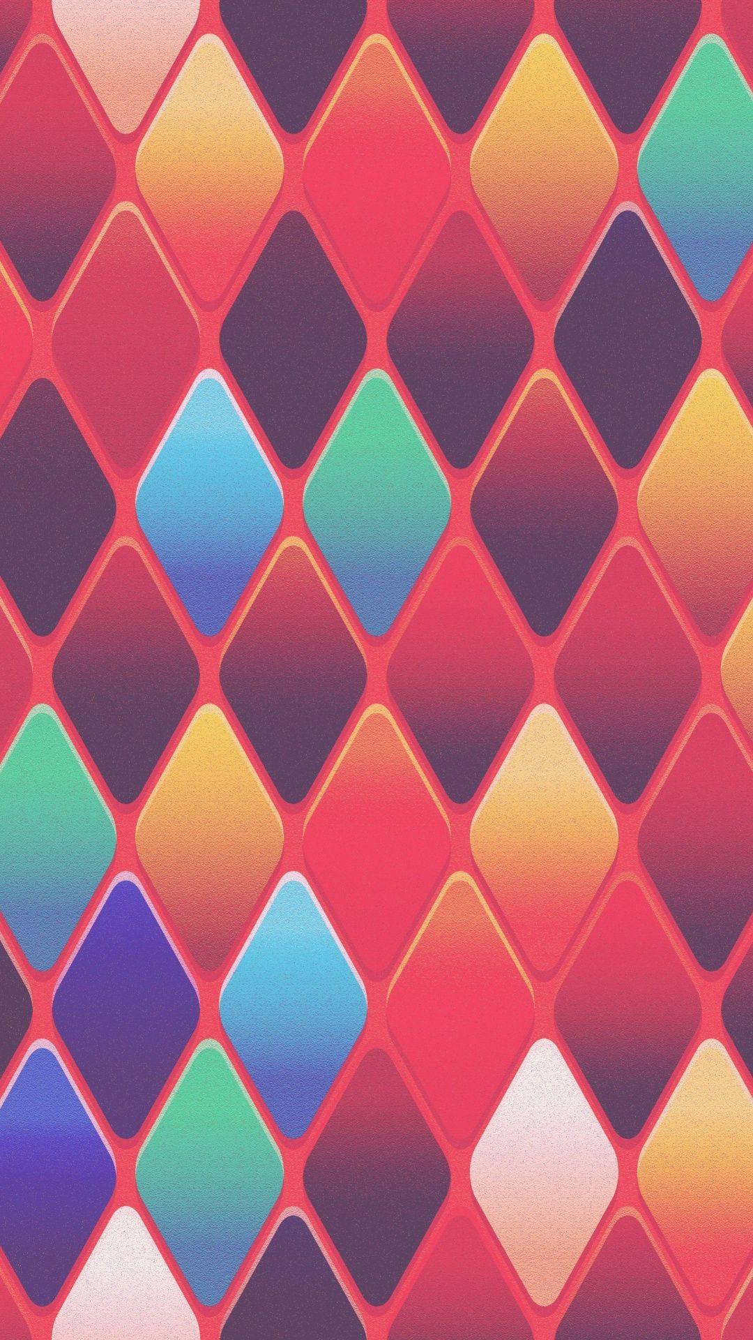 Abstract Tiles Diamond Shape Pattern Texture 1080x1920 Wallpaper Pattern Wallpaper Abstract Wallpaper