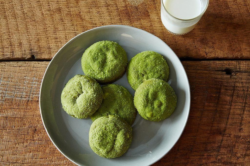 Matcha Snickerdoodles recipe: Mathca madness. #food52