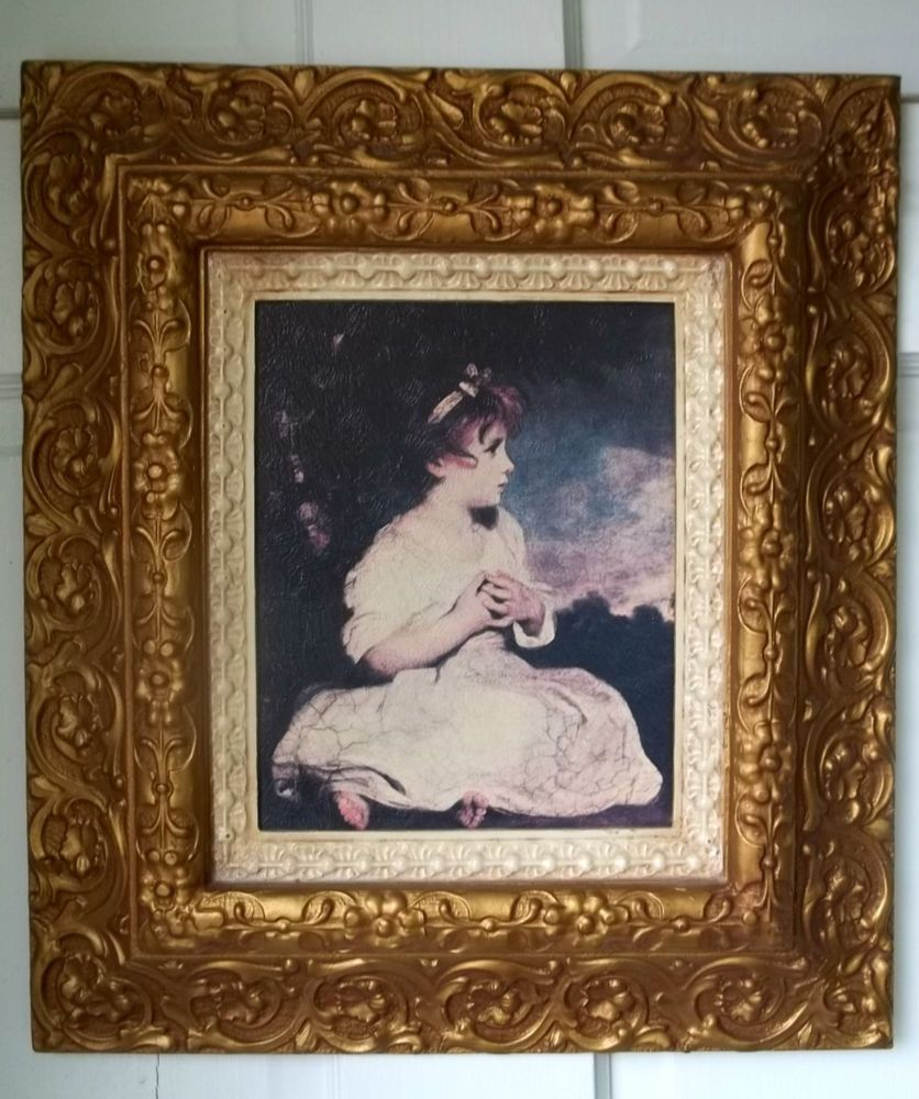 home interiors no1791 cw age of innocence painting print picture portrait