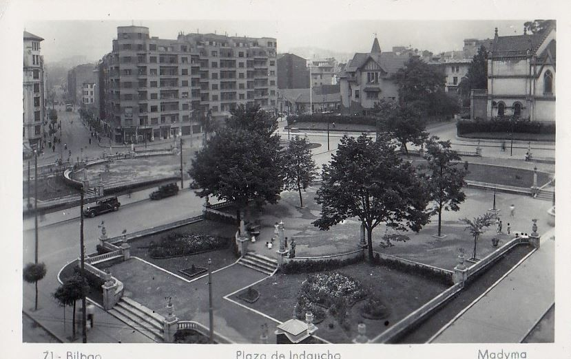Old indautxu bilbao bilbao ayer bilbao pa s vasco y - Bilbao fotos antiguas ...