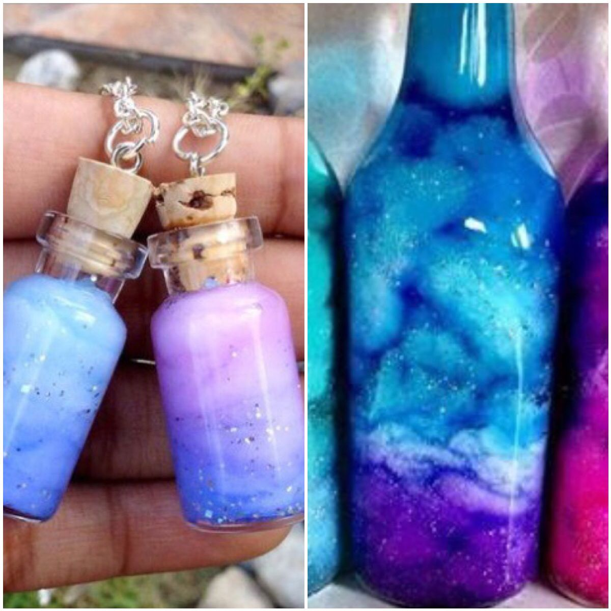 Pin by christina hostetter on cute crafts pinterest for Diy bottles and jars