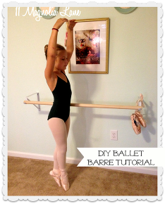 Tutorial: How To Make Your Own DIY Ballet Barre