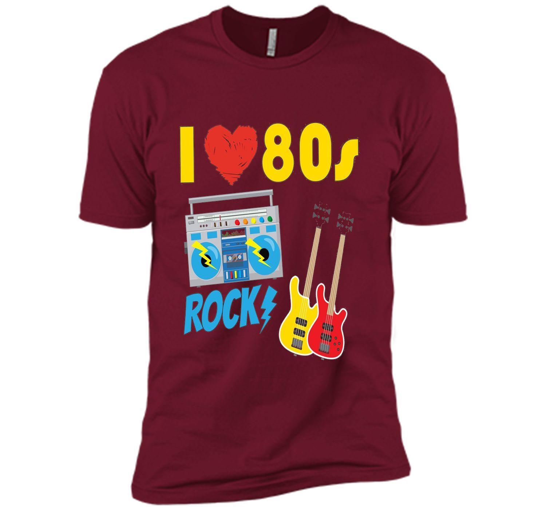 I Love The 80s Shirt Eighties Gift T-Shirt for Men and Women