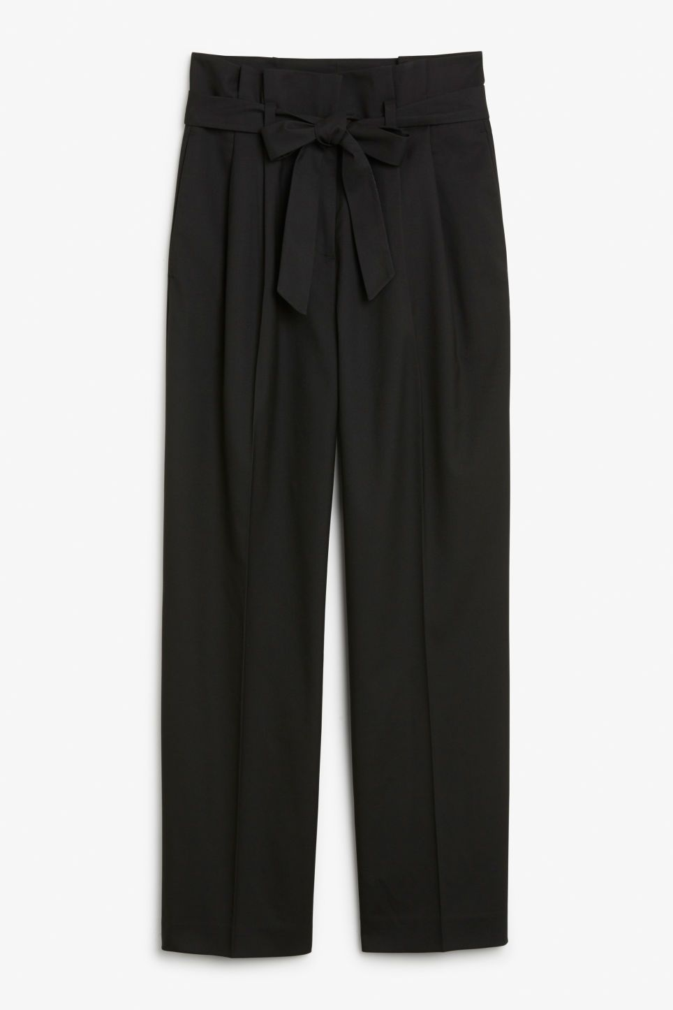 bb504e6c2c94 Söart trousers with tie details - Chic trousers crafted from a soft twill  fabric, with front pleats and a super wide-leg. Ties together with a  matching belt ...
