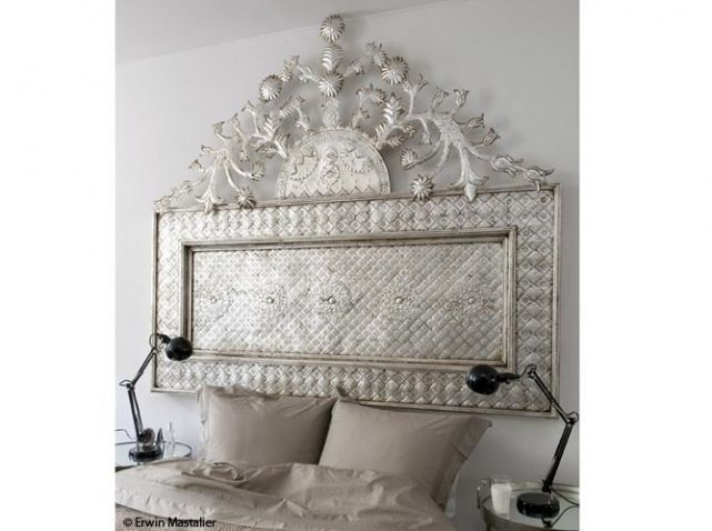 tete de lit orientale metal idees bricolage pinterest. Black Bedroom Furniture Sets. Home Design Ideas
