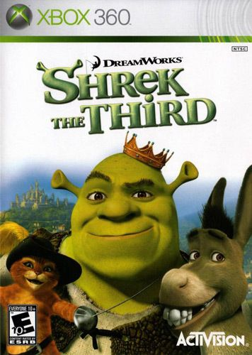 Shrek The Third Xbox 360 Game In 2018 Products Pinterest