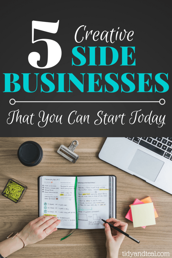 5 creative side business ideas that you can start today personal