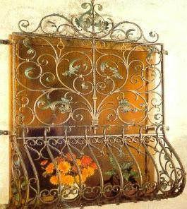 Window Metal Frame Wrought Iron Furniture Iron Furniture Window Grill Design