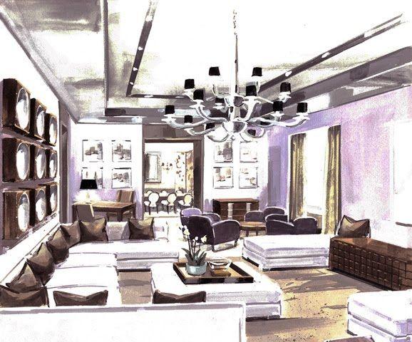 Donghia Mobili ~ Interior floor plans masaru suzuki for donghia for design