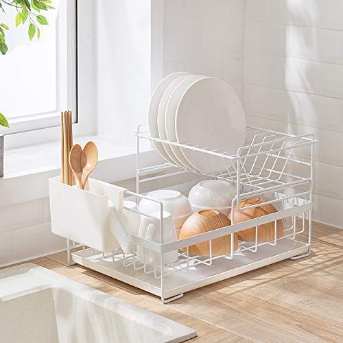 Amazon Com Sunficon Dish Drainer Detachable Kitchen Drying Dish
