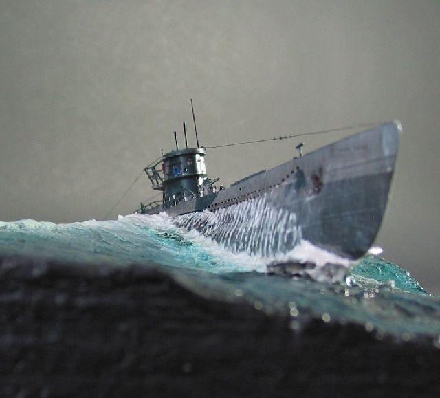 U Boot Typ Vii D Wasserfahrzeug Kriegsmarine Schiff