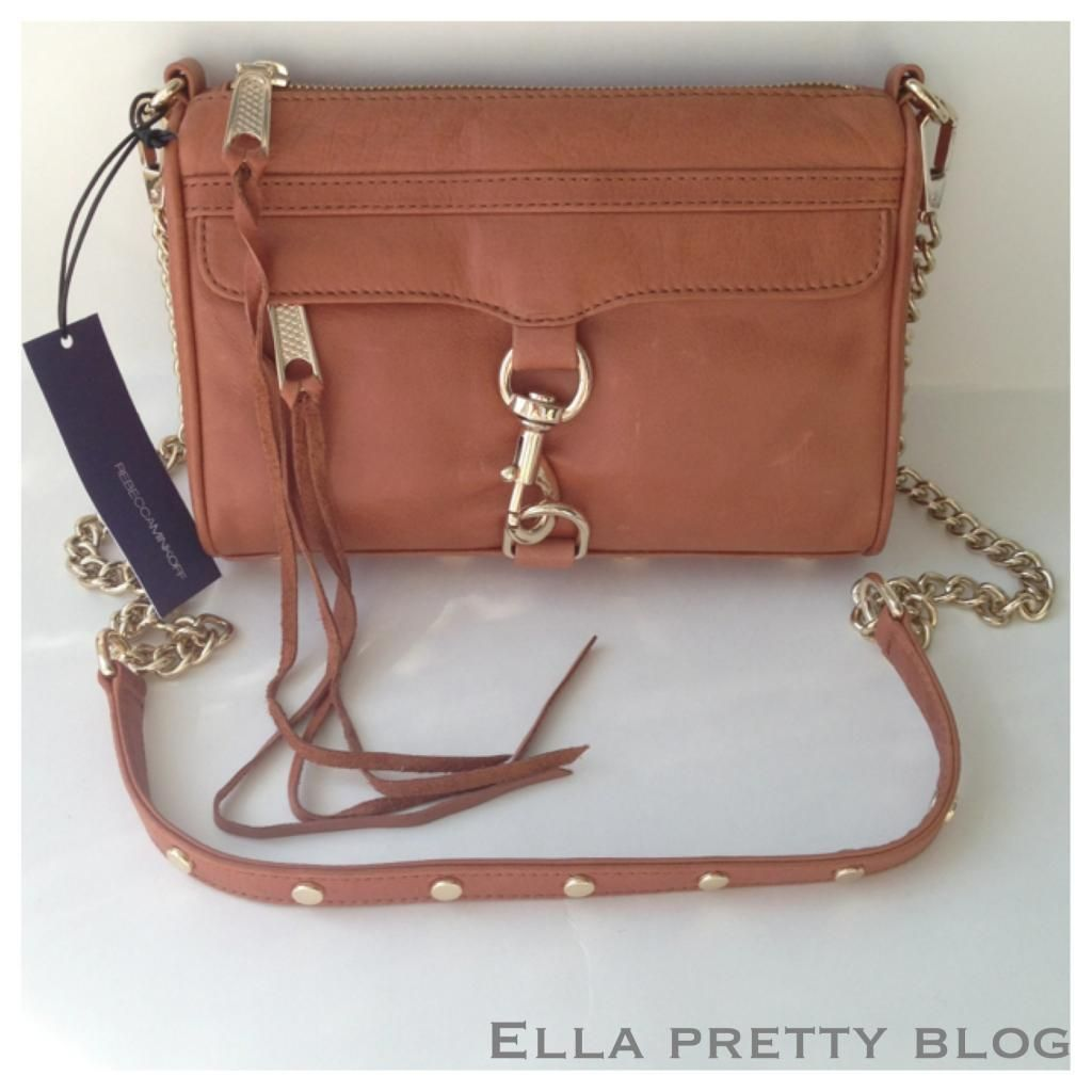 Quick Bag Review Rebecca Minkoff Mini Mac In Almond