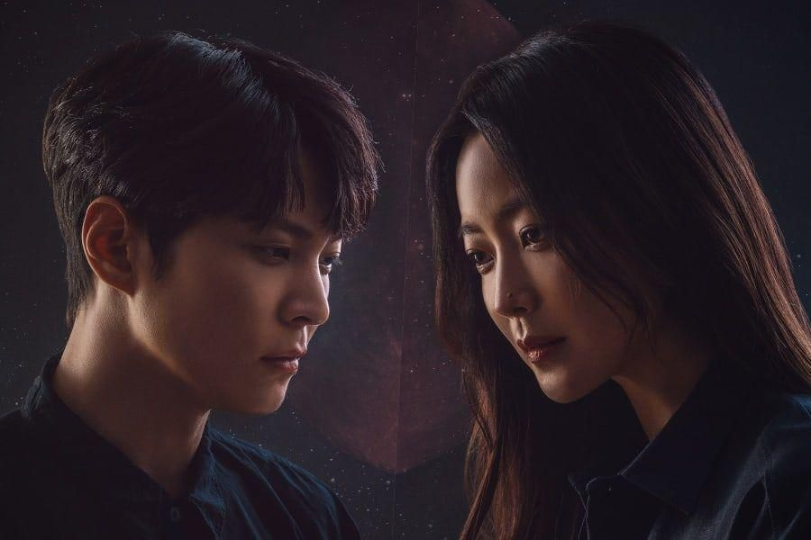 "Joo Won And Kim Hee Sun Prepare For An Otherworldly Adventure In Posters For Upcoming Sci-Fi Drama ""Alice"""