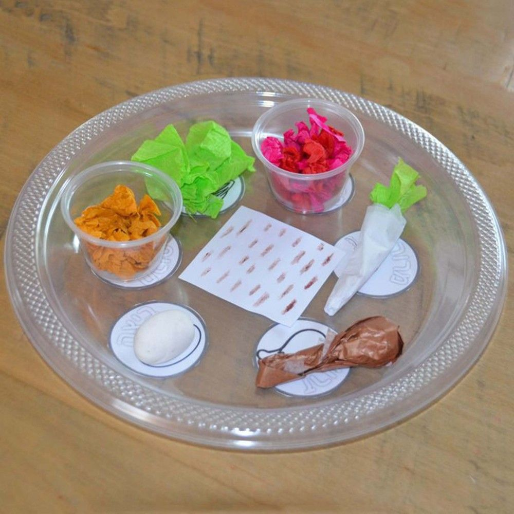 15 DIY Passover Seder Plates Your Kids