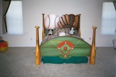Baseball Bed Baseball Bed Baseball Bedroom Kid Room Decor