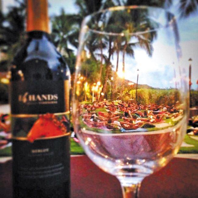 Moana Surfrider's Vino and Vinyasa event combines wine and yoga