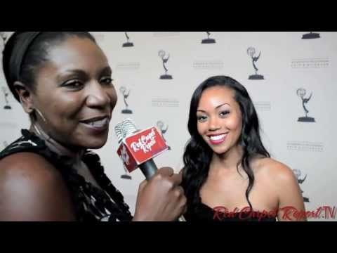#DaytimeEmmys Nominee Party: #RedCarpetReport @Linda Antwi's interview http://ht.ly/m4lB4 w/ @MishaelMorgan1