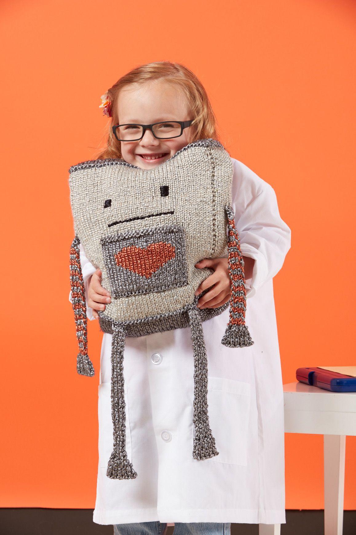 Mr Robotics Knitted Toys Pinterest Crocheted Toys Knit