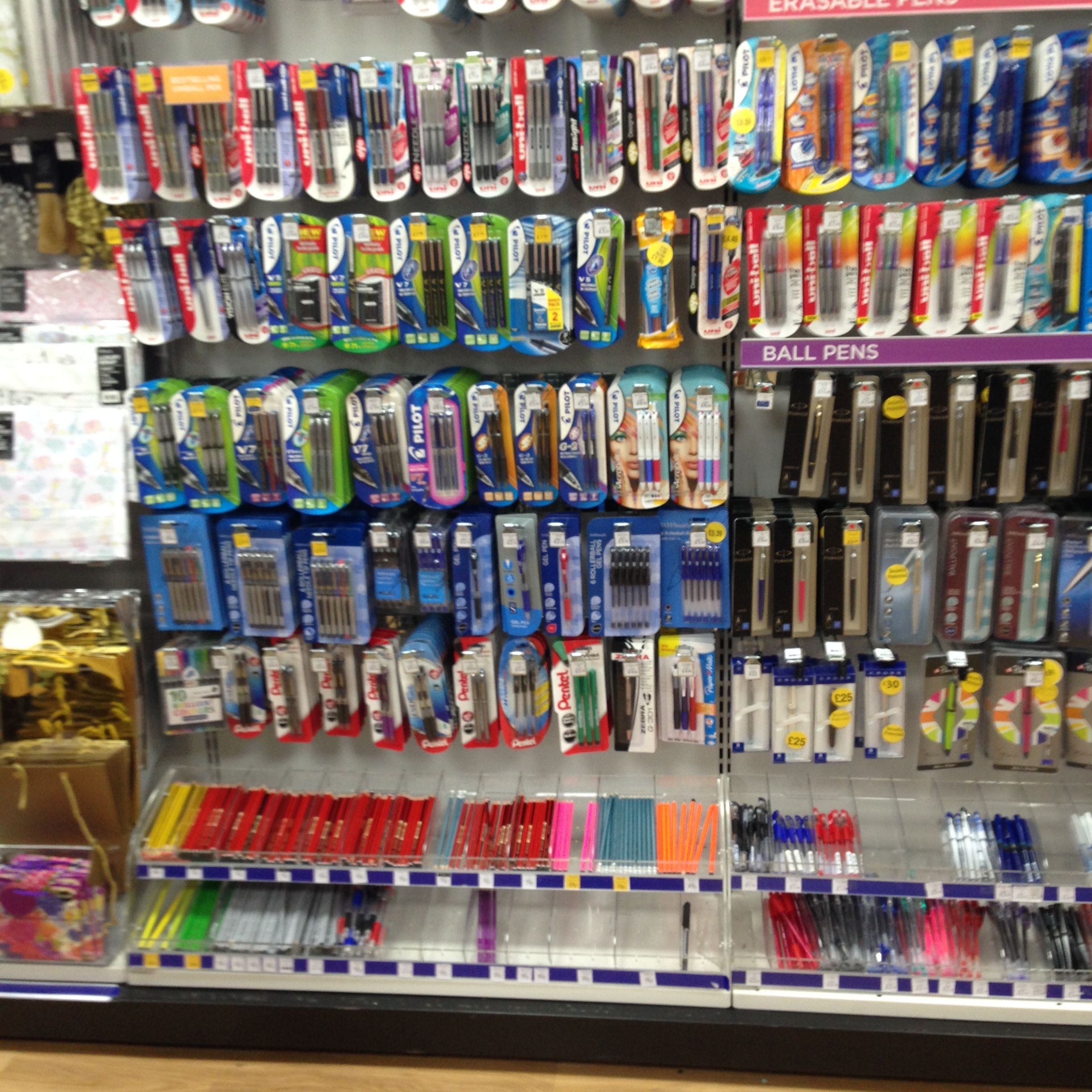 Shelving Shop Stationery Shelving Unit Retail Shelving Display Stationery Shop