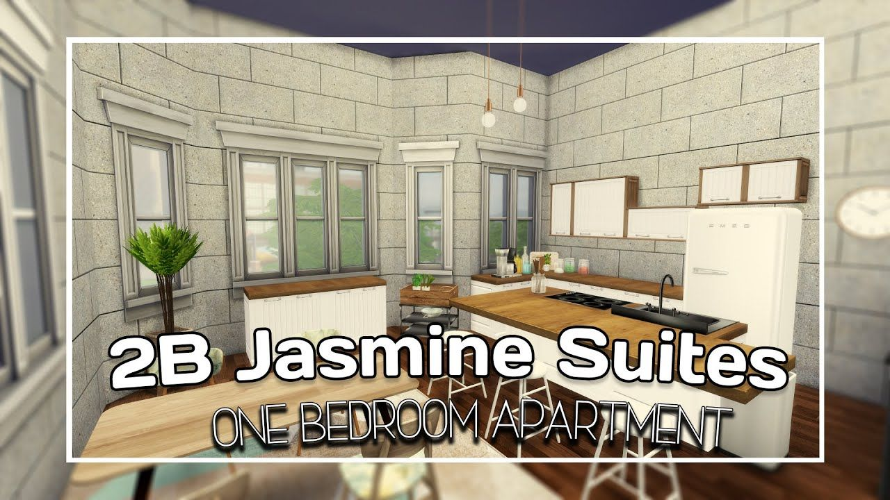 The Sims 4 City Living Speed Build 2b Jasmine Suited Cc Links Apa Sims 4 City Living City Living Apartment Renovation