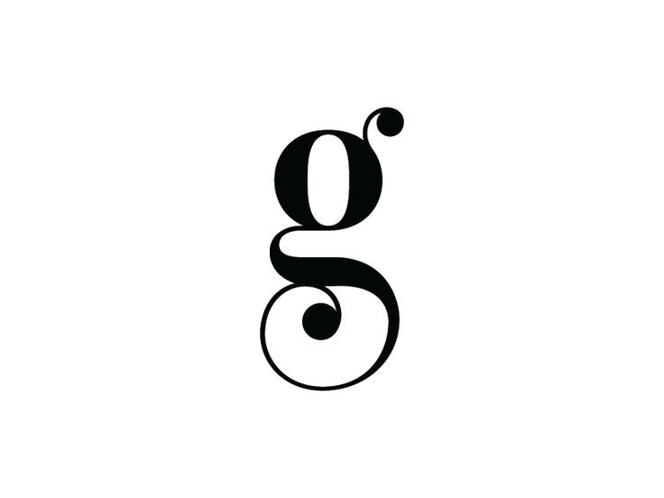 letter g typography letters and typography