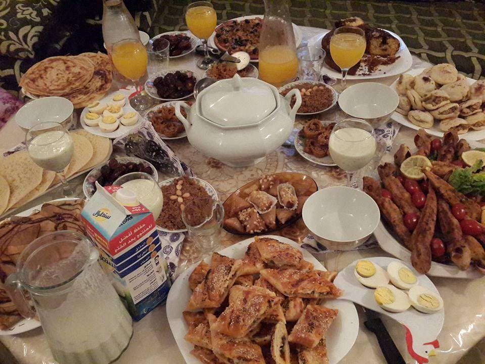 افكار2 سهلة لتحضير مائدة الإفطار للظيوف في رمضان ضفيرة بعجين رائع حش Cooking Recipes Food