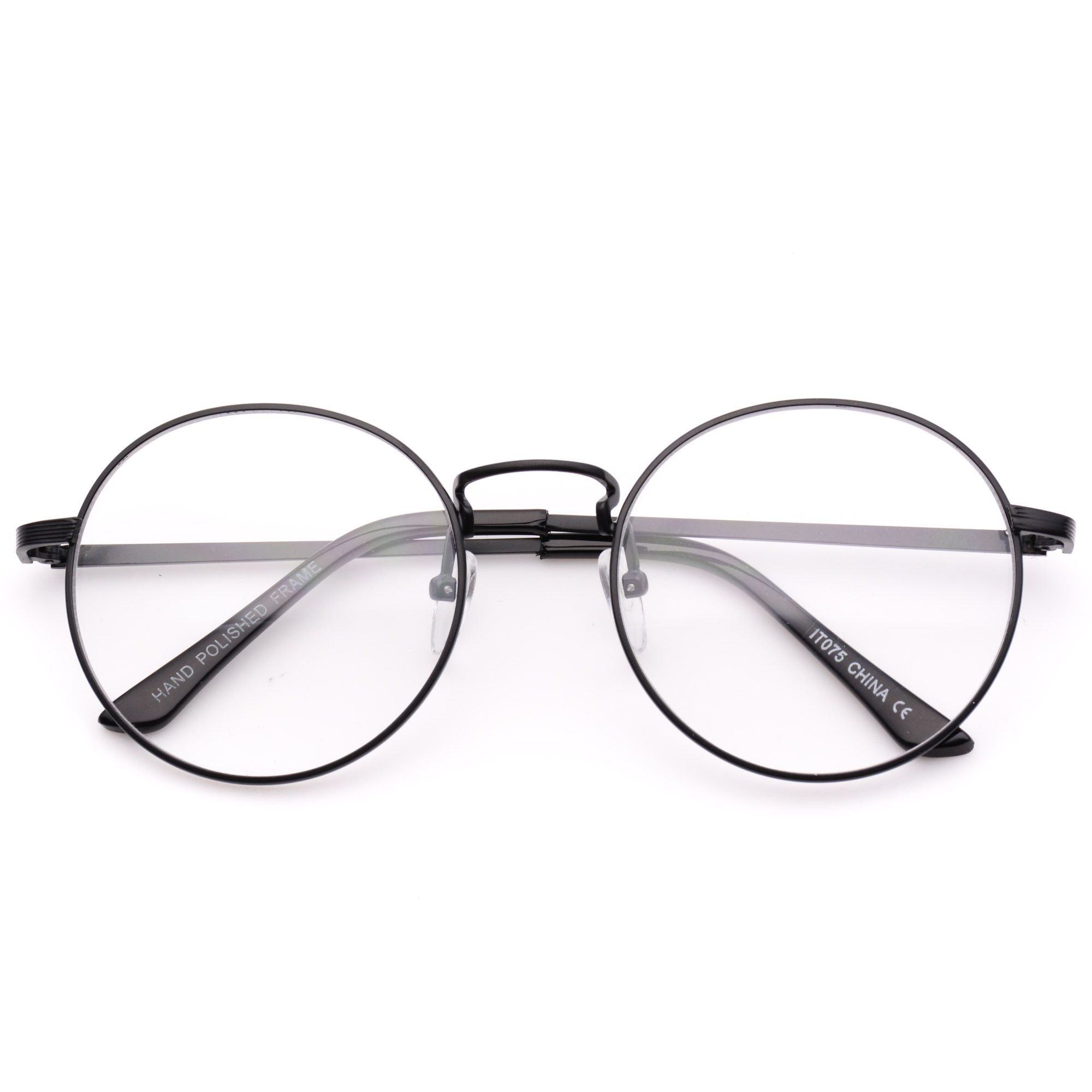 5490188172d478 Blaine Round Metal Clear Lens Glasses   Buy in 2019   Glasses ...