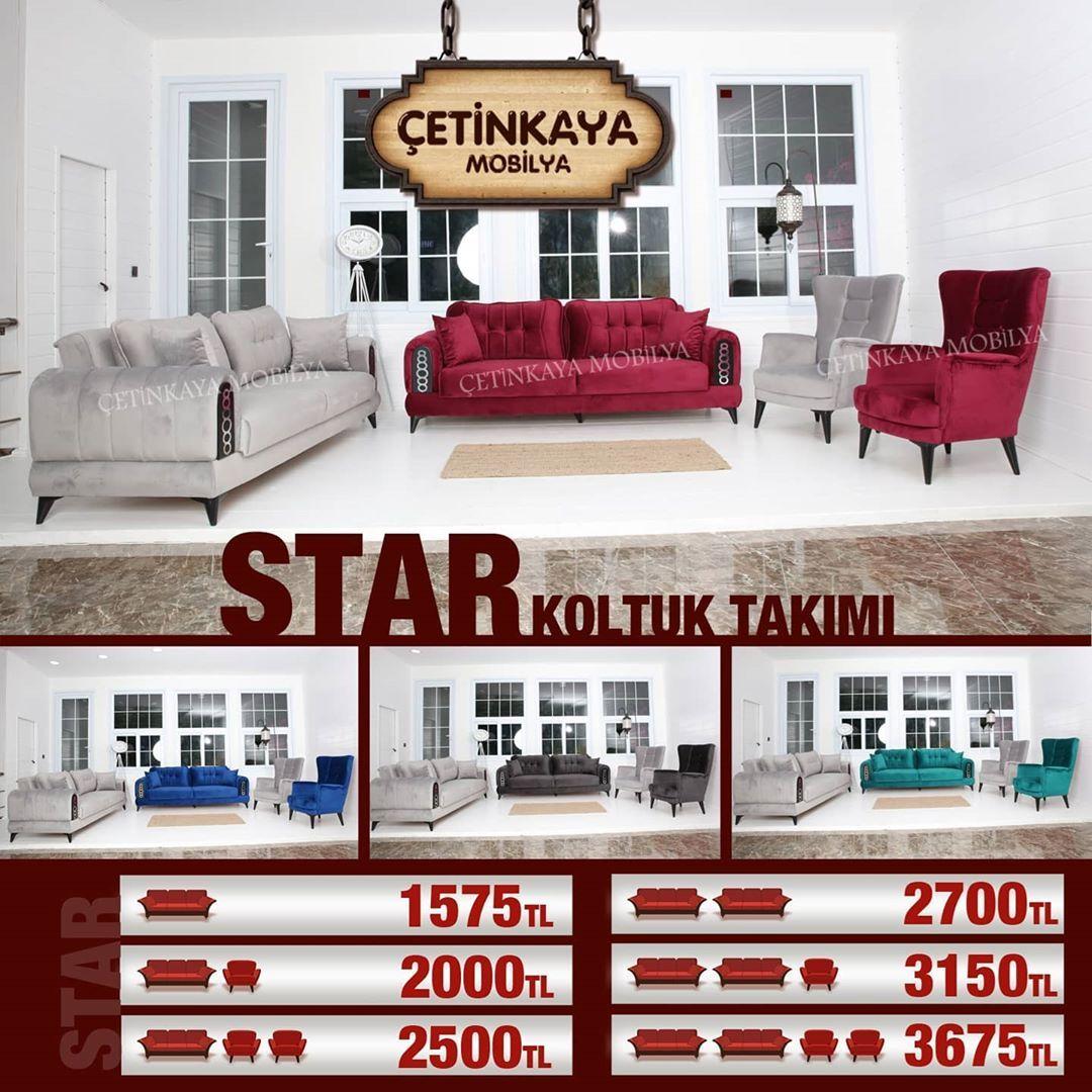 Star Koltuk Takimi 3 3 1 1 Yatak Ve Sandik Olabilme Ozelligiyle Tanitim Suresince Sadece 3675 Tl Her Renk I 2020