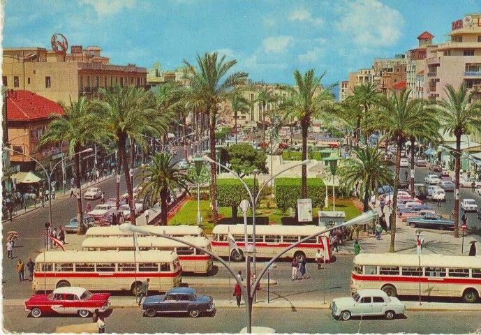 Downtown Beirut 1960 39 S Dear Lebanon Pinterest Beirut Lebanon And Beirut Lebanon